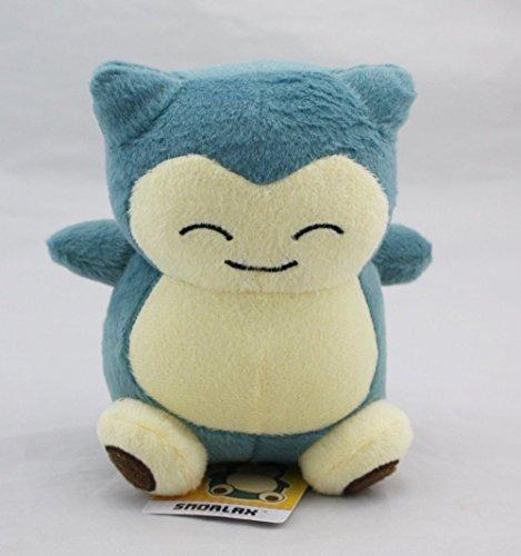 BazarPRO - Snorlax Pokemon peluche 15 cm/6 pollici