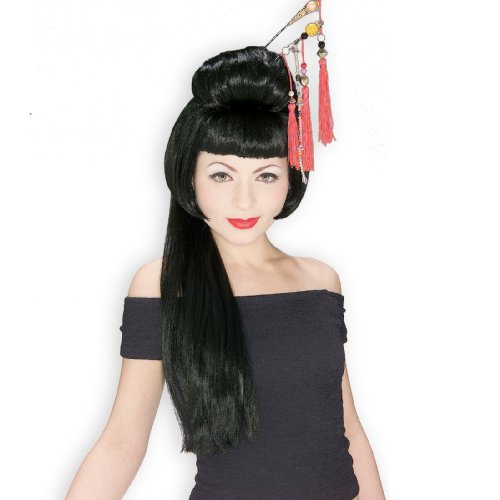 Rubie's Costume China Girl Wig, Black, One Size