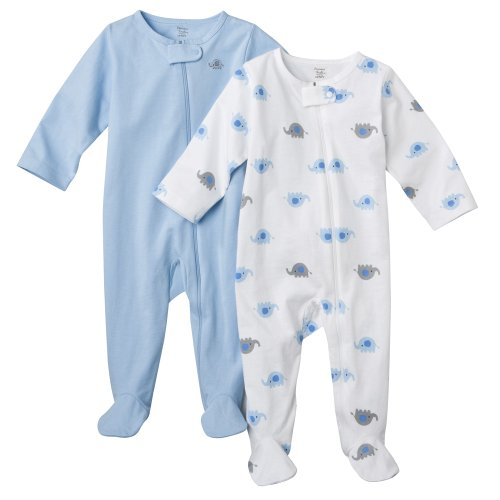Newborn Boys' JUST ONE YOU Made by Carter s ® Precious Firsts Blue 2pk Sleep N' Play NB