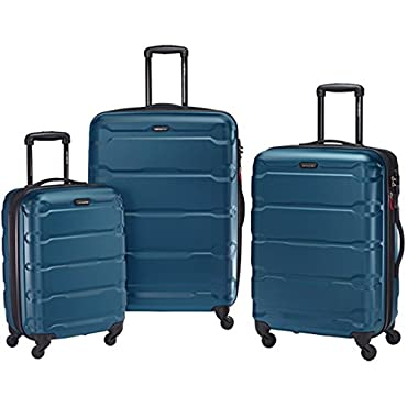 Samsonite Omni Hardside Luggage Nested Spinner Set 20, 24, 28 (Teal)