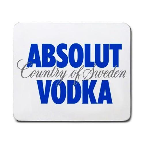 Amazon.com: absolut vodka LOGO mouse pad