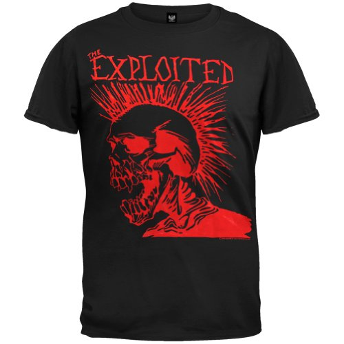 Exploited - Let'S Start A War T-Shirt Medium Black