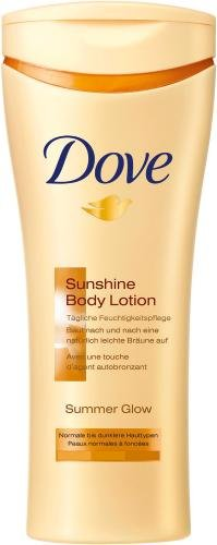 Dove Summer Glow Body Lotion Medium/Dark Skin 250ml