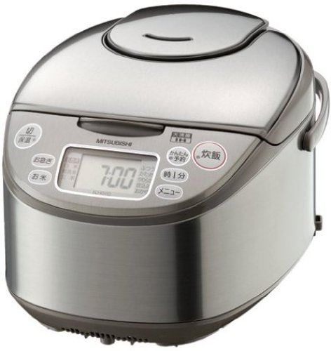 三菱電機 NJ-KH10-S IHジャー炊飯器 シルバー 5.5合炊き
