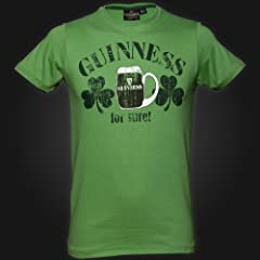 Guinness Green St Patrick's Day Tee