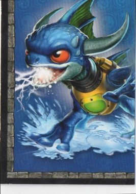 Skylanders Giants No. A7 PUZZLE - Puzzle Card Individuelle Trading Card