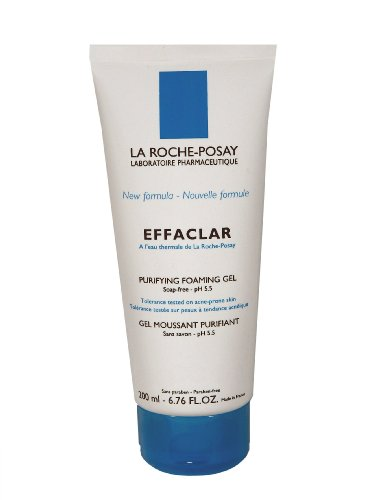 La Roche-Posay Effaclar Purifying Foaming Gel, 6.76-Ounce Tube