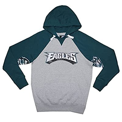 BIG & TALL Mens NFL Athletic Pullover Hoodie: PHILADELPHIA EAGLES
