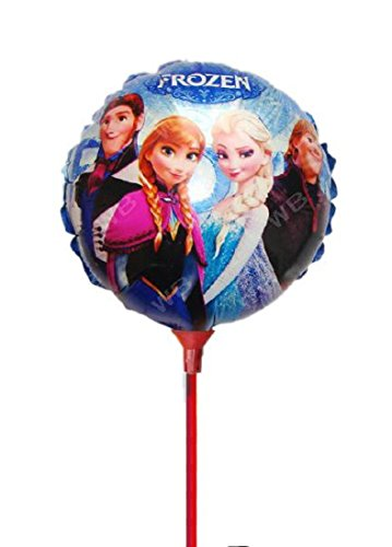 Elsa Anna frozen balloon sticks 21cm
