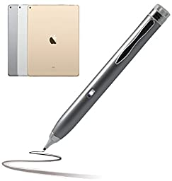 Navitech Silver Pro Works Active Stylus Pen Compatible With Apple iPad Pro 9.7