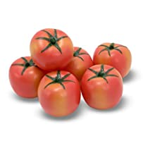 Melissa &amp; Doug Tomato (Bundle of 6) Bulk Fruits &amp; Veggies