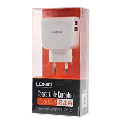 Ldnio DL-AC56 2.1 Amp Dual USB Port for iPhone iPad Samsung HTC etc