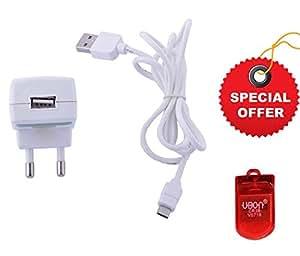 ERD USB Mobile charger ERUTC53A TC-53 White (5V-1Amp)(FREE GIFT UBON CARD READER)
