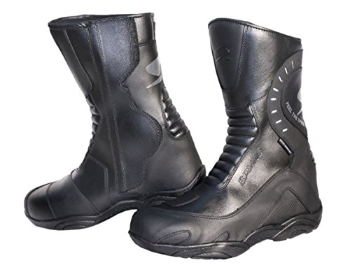spyke-pathfinder-wp-mens-motorcycle-leather-boots-black-46