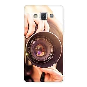 Delighted Premier Camera Multicolor Back Case Cover for Galaxy Grand 3