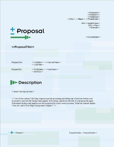 Proposal Pack Electrical #3 V15.0 - 2014