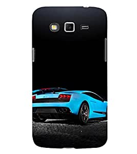 Racing Car 3D Hard Polycarbonate Designer Back Case Cover for Samsung Galaxy Grand I9082 :: Samsung Galaxy Grand Z I9082Z