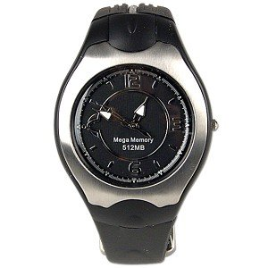 USB 512MB Flash Drive/Analog Wristwatch Combo