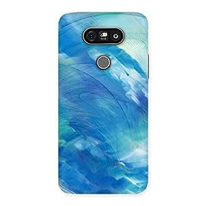 Stylish Art Blue Multicolor Back Case Cover for LG G5