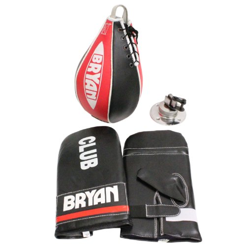 BRYAN Boxing Club Speedball , Swivel & Mitt Set
