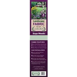 Garden Odyssey GO350 Landscape Fabric Roll, 50-Feet