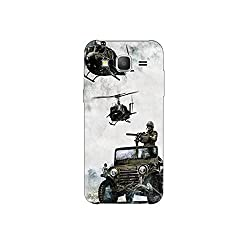 samsang grand prime nkt09 (4) Mobile Case by oker - Indain Army in Helicopter and Gypsy