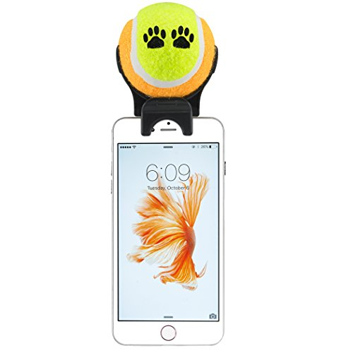 smartphone attachment selfie stick for pet yellow sporting goods racquet sports tennis tennis. Black Bedroom Furniture Sets. Home Design Ideas