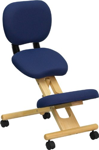 Ergonomic knee chair