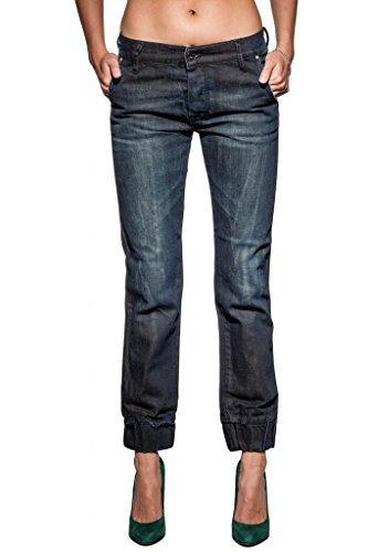 Women's Diesel JOYZE 8JB Tapered Ankle Length Jeans - Size 25Wx30L