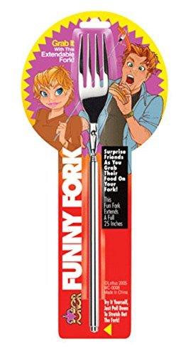 Funny Fork Extendable Joke 25 Inch Gadget Novelty
