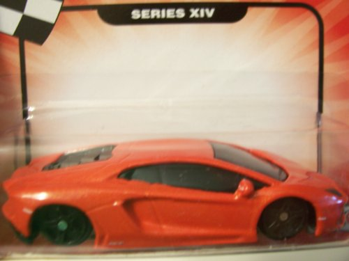 Speed Wheels Lamborghini Aventador LP700-4 ~ Redish Orange (Series XIV)