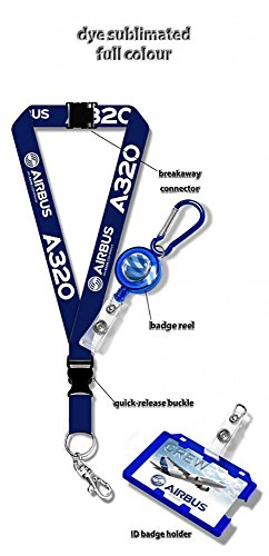 airbus-a320-dye-sublimation-lanyard-badge-reel