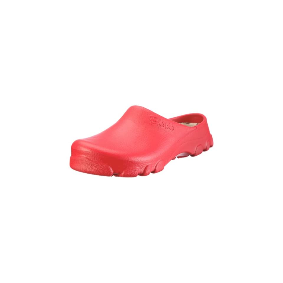6c09d64e77f2e8 Birkis clogs Outdoor Birki from Alpro Cell in Red with a narrow insole