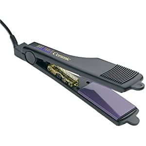 Hot Tools Professional 1177 Ceramic+Titanium 2 Inch Wide Flat Iron with Gentle Far-Infrared Heat