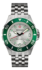 Wenger Men's 7223 AquaGraph Deep Diver Swiss Watch