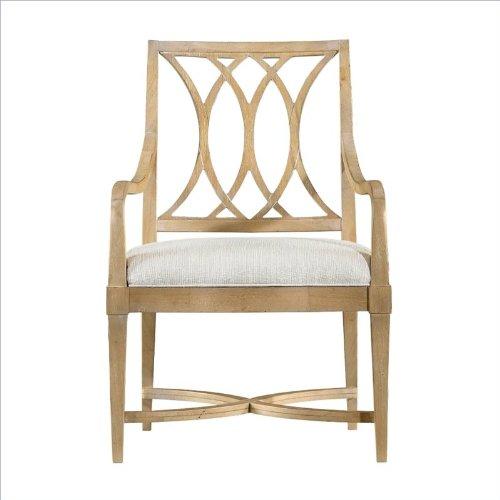 Stanley Furniture Coastal Living Resort Heritage Coast Arm Chair In Sea Oat front-990453