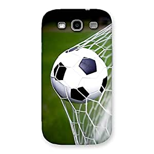 Enticing Goal Green Back Case Cover for Galaxy S3