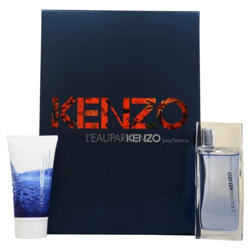 Kenzo L'Eau par Kenzo pour Homme Confezione Regalo 50ml EDT + 50ml Gel Doccia