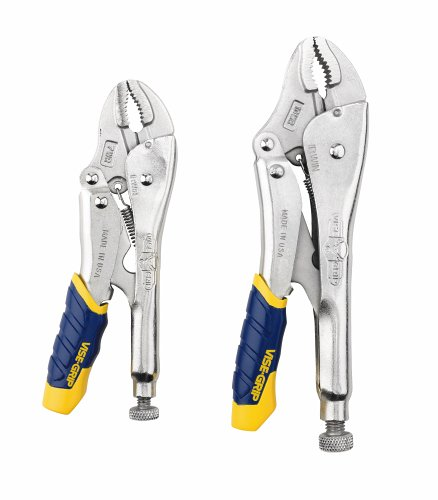 IRWIN Tools VISE-GRIP Locking Pliers, Fast Release, 2-Piece Set (214T)
