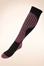 Twisted Ski Socks with Wool [T60-8713-S]