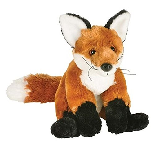 """10"""" Red Fox Plush Stuffed Animal Toy front-991155"""