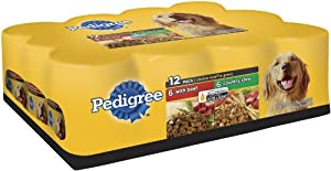 Pedigree Choice Cuts Variety Pack (with Beef, Country Stew) Food for Dogs, 13.2-Ounce Cans (Pack of 24)