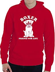 Boxer Dog Lover Adult Ladies Mens Hoodie Birthday Gift Idea Size S-XXL