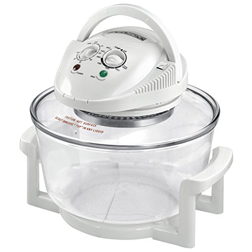 Popamazing 12 Litre Premium Halogen Oven Cooker Convection + Accessories