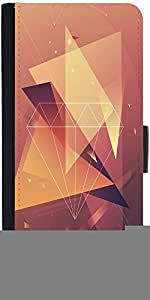 Snoogg Abstract Design Designer Protective Phone Flip Case Cover For Xolo One Hd