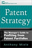 Patent strategy:the manager