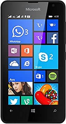 Microsoft Lumia 430 (Black, Dual SIM, 8GB)