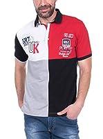 SIR RAYMOND TAILOR Polo Shirt Short Sleeve Gimme (GREY MELANGE)