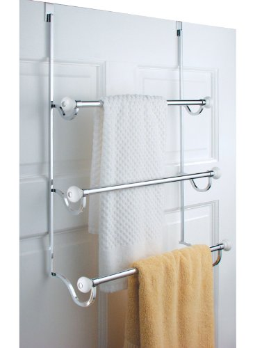 Best over the door towel racks for Door towel racks for bathrooms