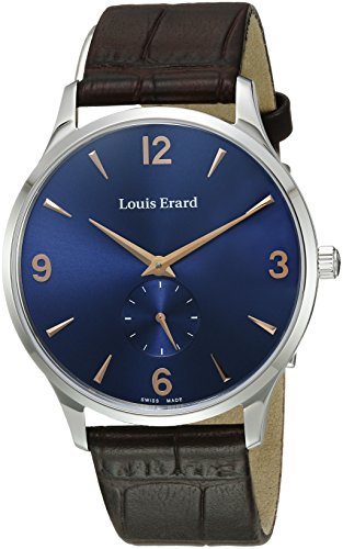 Louis-Erard-Mens-47217AA15BEP01-1931-Analog-Display-Mechanical-Hand-Wind-Brown-Watch